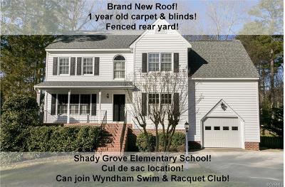 Glen Allen Single Family Home For Sale: 12406 Creek Mill Court