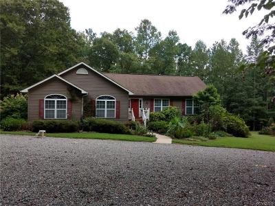 Hanover County Single Family Home For Sale: 13377 Spring Road