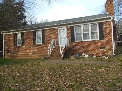 Henrico Single Family Home For Sale: 1102 Mount Erin Drive