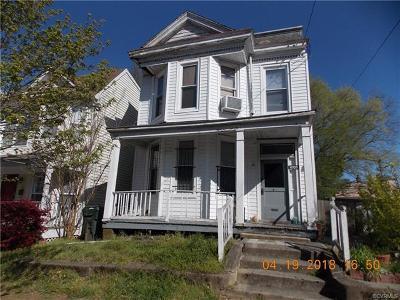 Richmond Rental For Rent: 1205 N 23rd Street #A