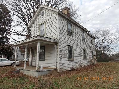 Lawrenceville Single Family Home For Sale: 18400 Christanna Highway