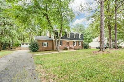 Richmond Single Family Home For Sale: 1400 Traway Drive