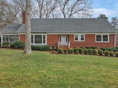 Richmond Single Family Home For Sale: 3905 North Huguenot Road