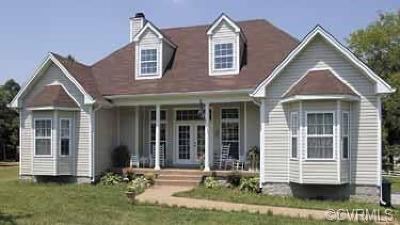 Petersburg Single Family Home For Sale: 5801 E Baileys Path Road
