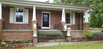 Chester Single Family Home For Sale: 16812 & 16810 Harrowgate Road