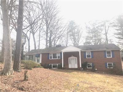 Richmond Single Family Home For Sale: 8541 Elm Road