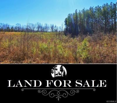 Amelia County Residential Lots & Land For Sale: 30 Acres Amelia Ave