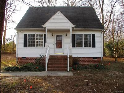 Hopewell VA Single Family Home Sold: $111,000