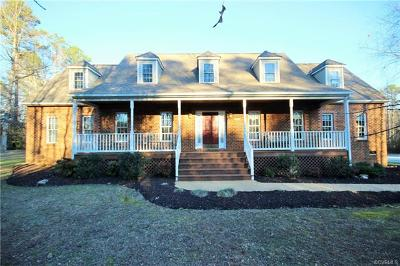 Henrico Single Family Home For Sale: 4940 N Warriner Road