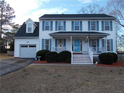 Chester Single Family Home For Sale: 2506 Exhall Court