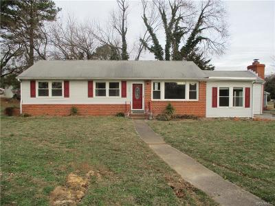 Richmond VA Single Family Home Sold: $120,100