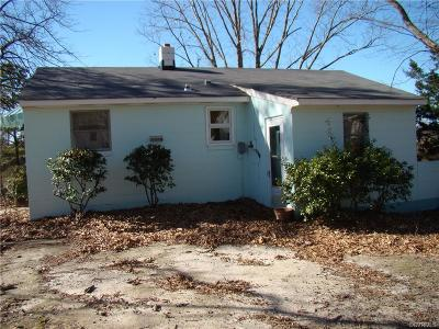 Deltaville Single Family Home For Sale: 124 Circle Drive