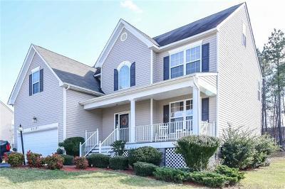 Petersburg Single Family Home For Sale: 22105 Lake Jordan Road