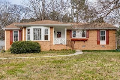 Henrico Single Family Home For Sale: 1703 Hollandale Road