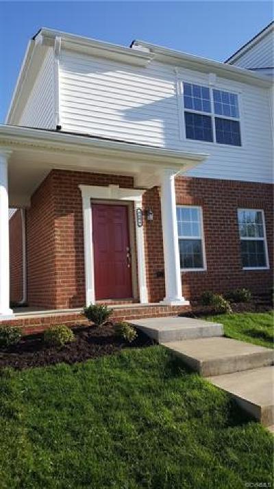 Hanover County Condo/Townhouse For Sale: 7382 Pebble Lake Drive #1