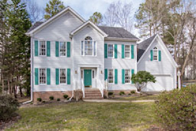 Midlothian Single Family Home For Sale: 3102 Cove Ridge Road