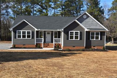 Dinwiddie County Single Family Home For Sale: 6214 Duncan Road
