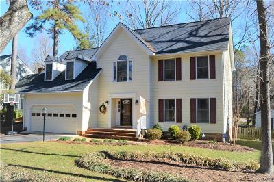 Midlothian Single Family Home For Sale: 6105 Lansgate Road