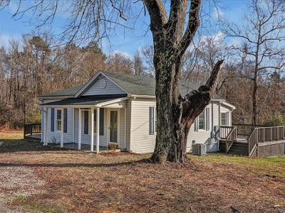 Powhatan VA Single Family Home For Sale: $174,900