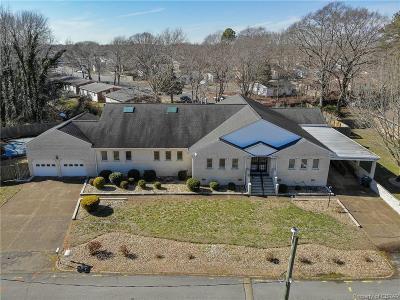 Hampton Single Family Home For Sale: 7 Boykin Lane