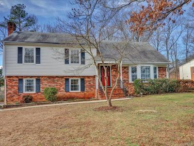 Henrico Single Family Home For Sale: 1606 Cranbury Drive
