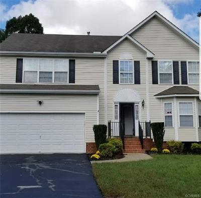 Chesterfield Single Family Home For Sale: 7112 Dortonway Place