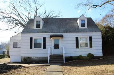 Chester Single Family Home For Sale: 2010 Pickett Street