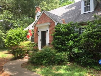 Chesterfield VA Single Family Home For Sale: $279,000