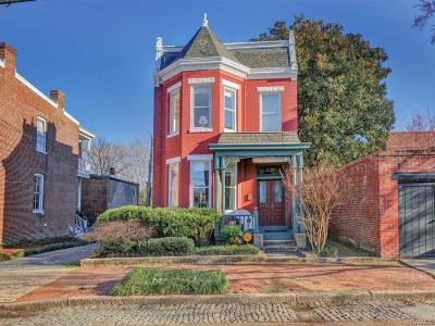 Richmond Single Family Home For Sale: 207 North 27th Street