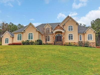 Powhatan County Single Family Home For Sale: 3080 Greywalls Drive