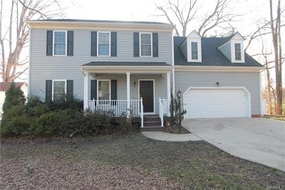 Henrico County Rental For Rent: 8648 Nesslewood Road