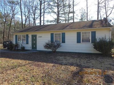 Chesterfield County Rental For Rent: 20907 Sasha Court