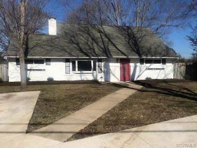 Henrico Single Family Home For Sale: 9204 Mapleway Road