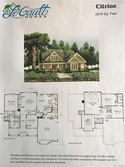Hanover County Single Family Home For Sale: 15188 Fawn Hollow Trail