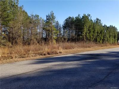 Dinwiddie County Single Family Home For Sale: 16991 Fox Branch Road