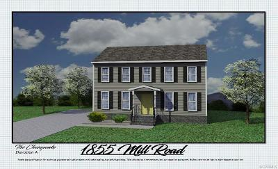 Henrico Single Family Home For Sale: 1855 Mill Road
