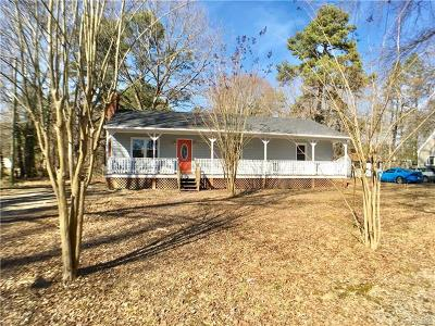 Henrico Single Family Home For Sale: 1376 Burning Tree Road