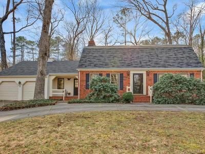 Chester Single Family Home For Sale: 4613 Crossgate Road