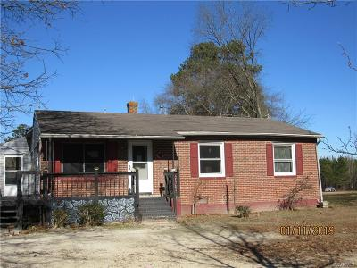 Brunswick County Single Family Home For Sale: 999 Antioch Road