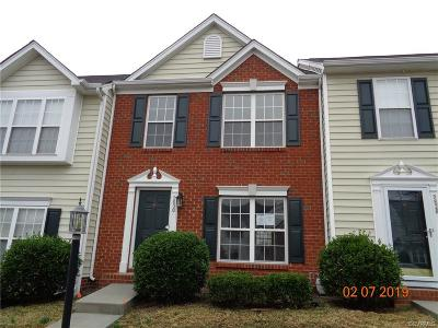 Glen Allen Condo/Townhouse For Sale: 9830 Magnolia Pointe Circle