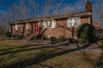 Mechanicsville Single Family Home For Sale: 7150 Fire Lane
