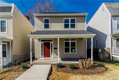 Richmond Single Family Home For Sale: 1514 North 23rd Street
