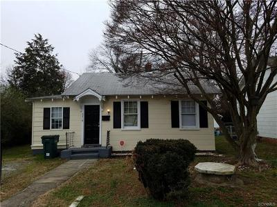 Henrico Single Family Home For Sale: 5218 Futura Avenue