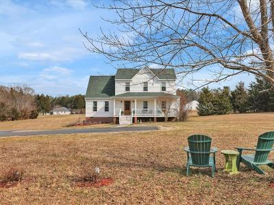 Powhatan Single Family Home For Sale: 1210 Rocky Ford Road