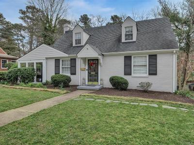 Henrico County Single Family Home For Sale: 1009 Ridge Top Road