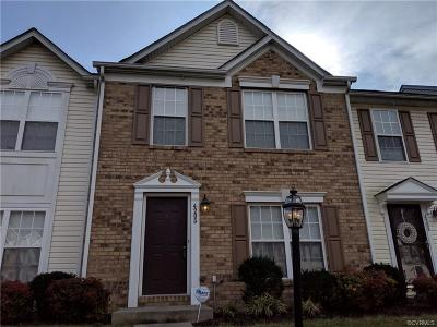 Henrico Condo/Townhouse For Sale: 4205 Riding Place Road