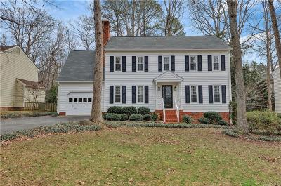Midlothian Single Family Home For Sale: 1011 Ashbrook Landing Terrace