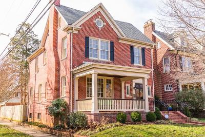 Richmond Single Family Home For Sale: 4201 W Franklin Street