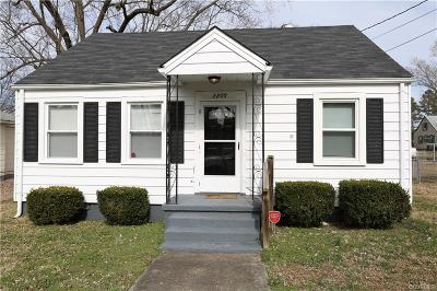 Hopewell Single Family Home For Sale: 2209 Lee Street