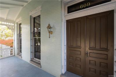 Richmond Single Family Home For Sale: 609 West Cary Street
